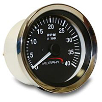 ATA-40 Alternator Signal Analog Tachometer