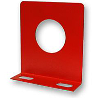 Red Single Gage Panel