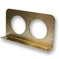Stainless Double Gage Panel